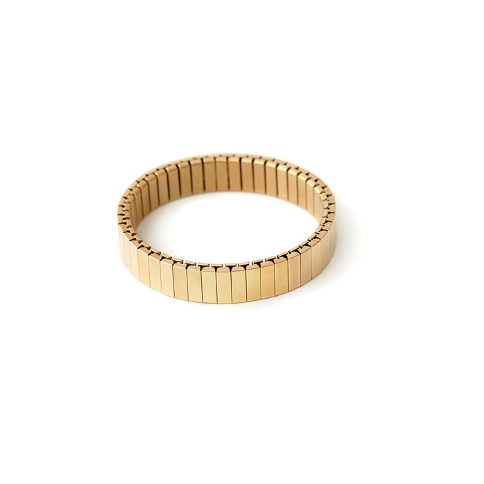 Rilee & Lo Shiny Yellow Gold Stacking Bracelet - Cult of Mac Watch Store