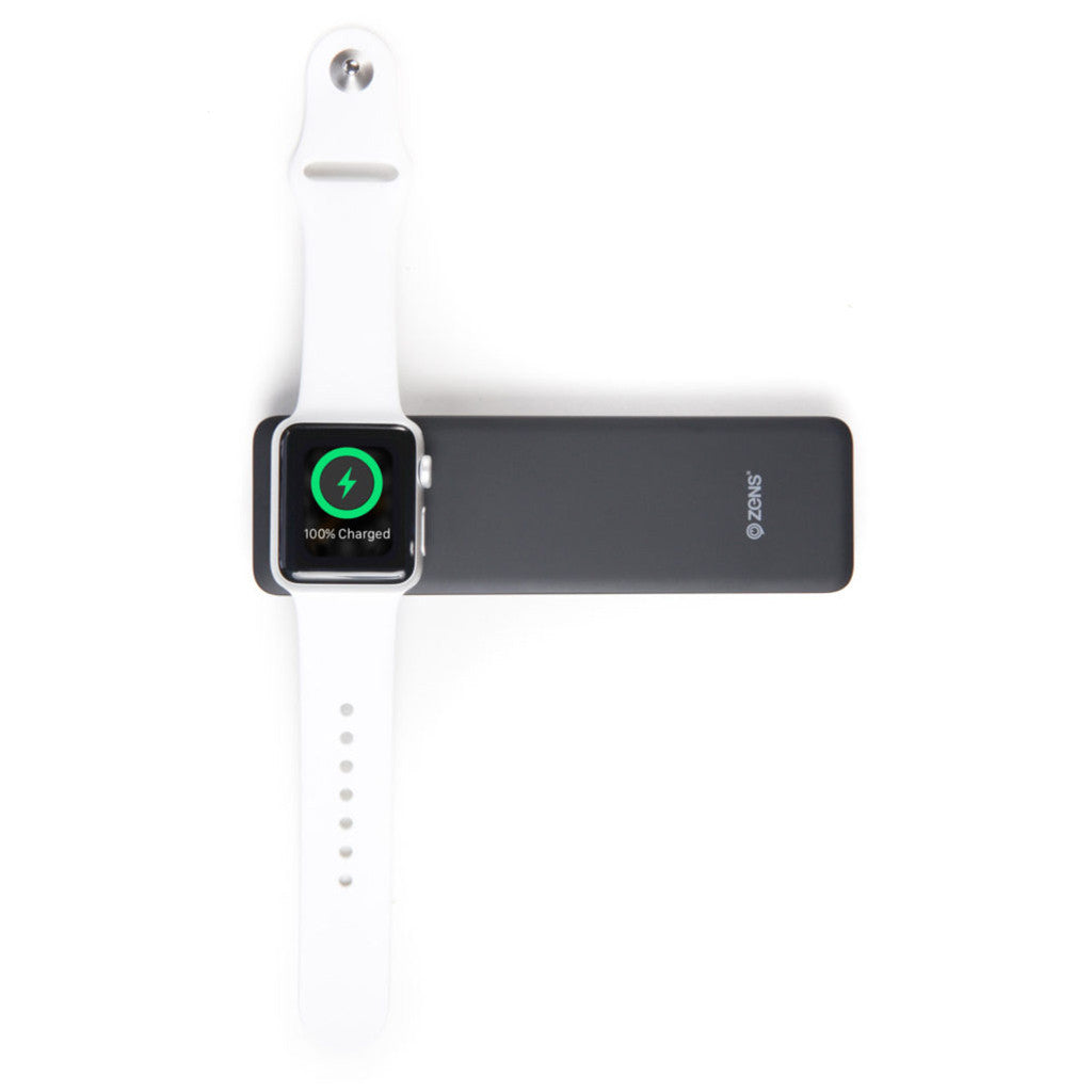 ZENS Apple iPhone/Watch Powerbank in Black - Cult of Mac Watch Store