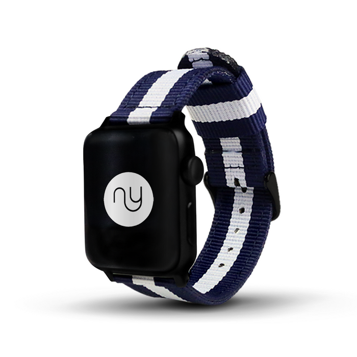 Nyloon Cambridge Nylon Apple Watch Band - Cult of Mac Watch Store