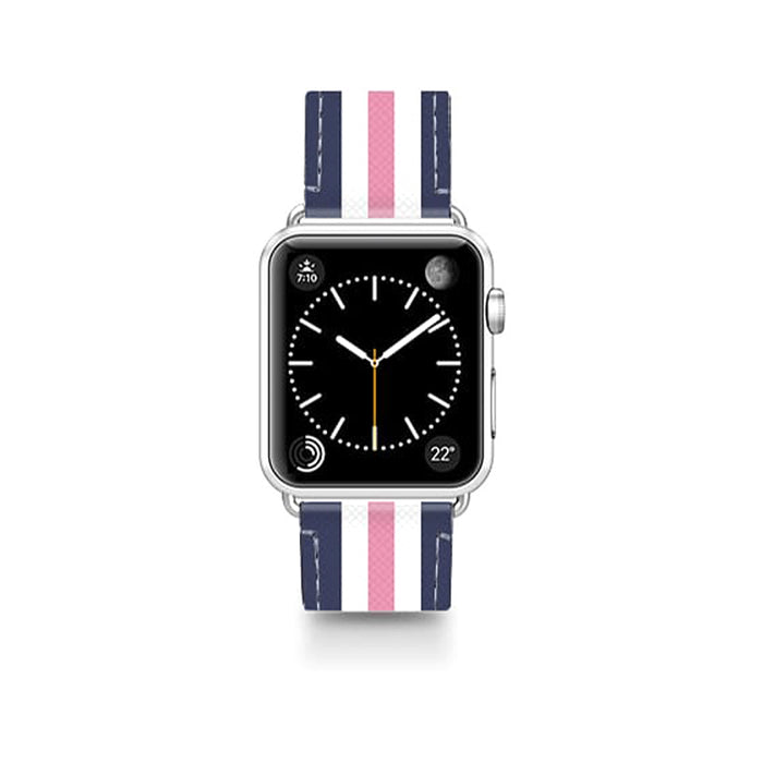 Casetify Saffiano Leather Apple Watch Band Classic Lady - Cult of Mac Watch Store