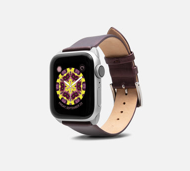 Monowear Cocktail Leather Apple Watch Band