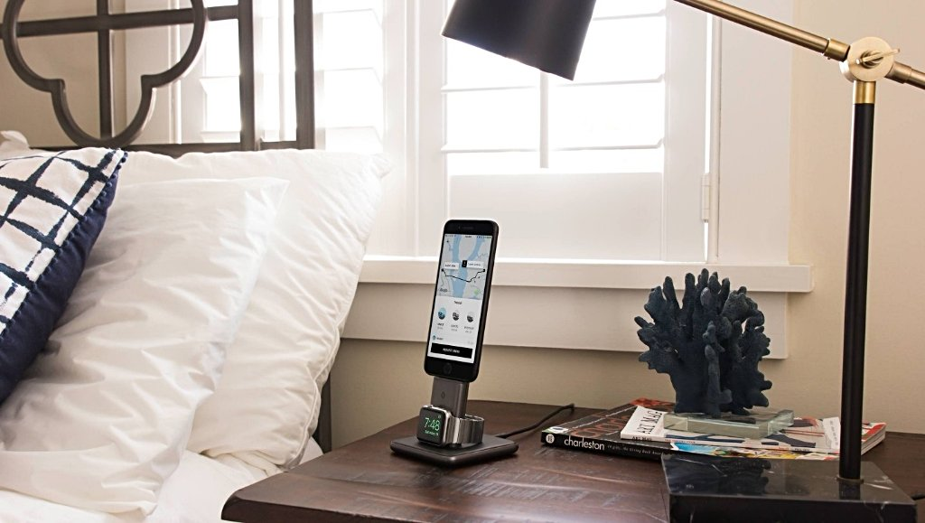 Twelve South HiRise Duet Charging Stand for Apple Watch and iPhone - Cult of Mac Watch Store