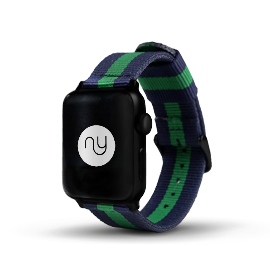 Nyloon Draper Nylon Apple Watch Band - Cult of Mac Watch Store