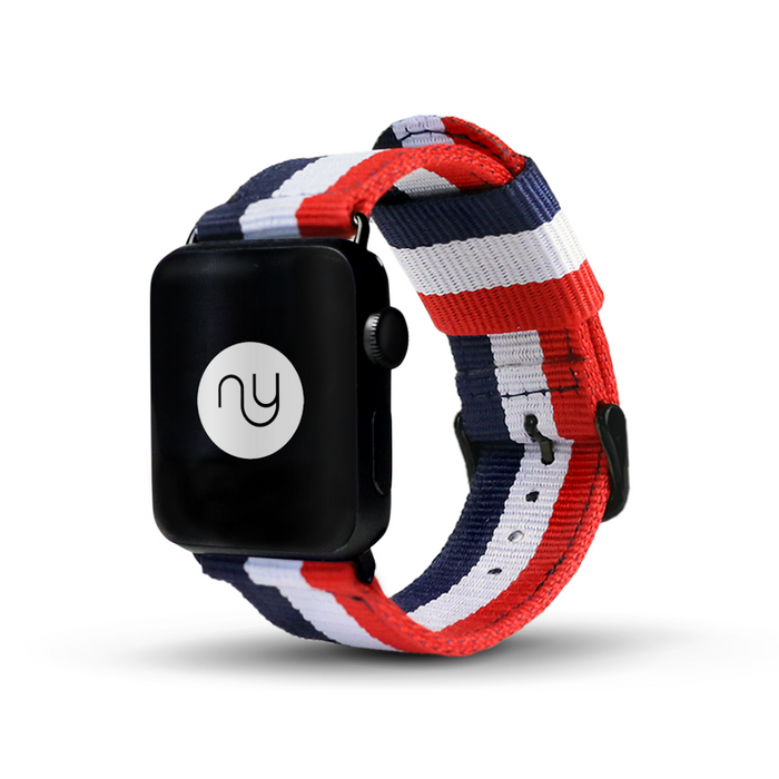Nyloon Elysee Nylon Apple Watch Band - Cult of Mac Watch Store