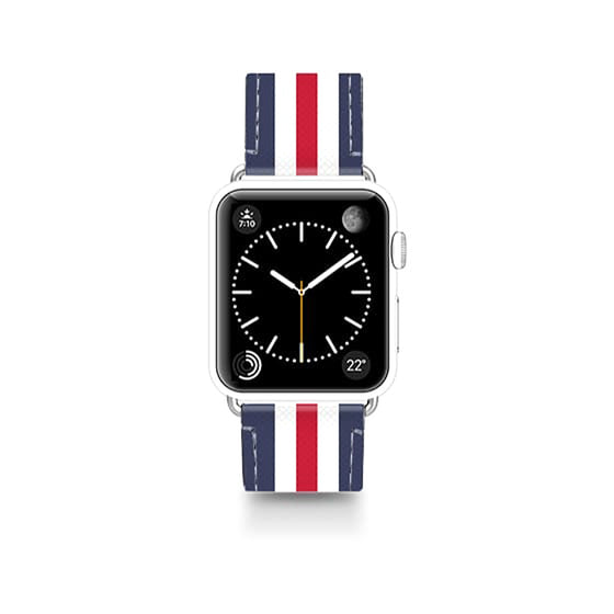 Casetify Classic England Leather Apple Watch Band
