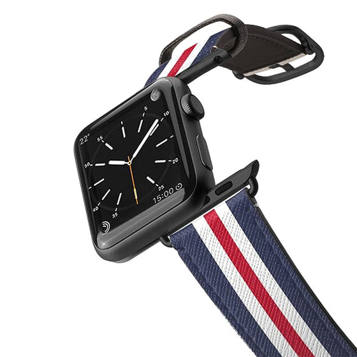 Casetify Saffiano Leather Apple Watch Band Classic England