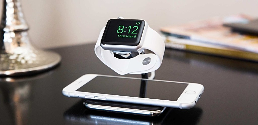 Twelve South Forté Luxury Charging Stand for Apple Watch