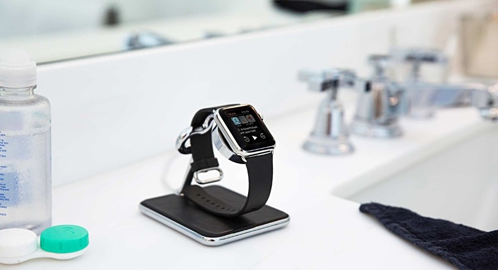 Twelve South Forté Luxury Charging Stand for Apple Watch - Cult of Mac Watch Store