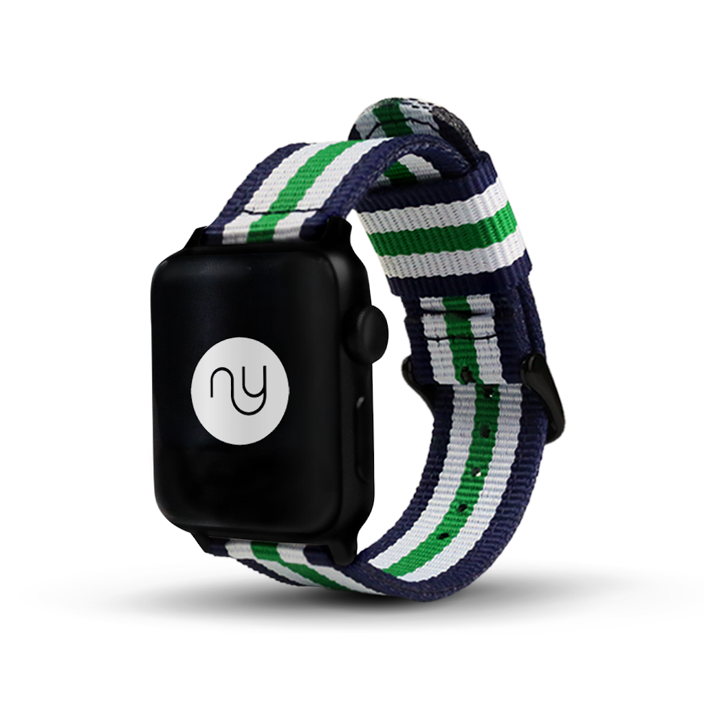 Nyloon Grön Nylon Apple Watch Band - Cult of Mac Watch Store