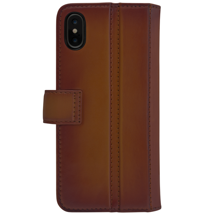 Ullu Piggyback Case in Hand-Colored Leather iPhone X/XS, XS Max [2]