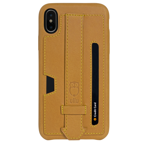 Ullu Strappy Case in Premium Leather iPhone X/XS, XS Max