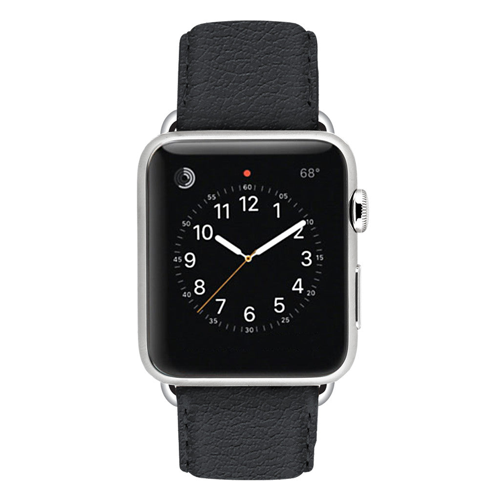 Ullu Premium Leather Apple Watch Band in Knight Rider