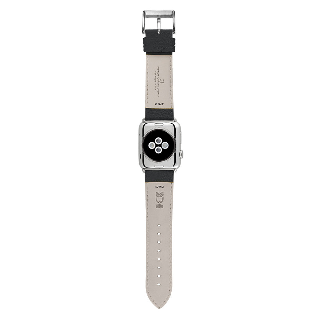 Ullu Premium Leather Apple Watch Band in Knight Rider - Cult of Mac Watch Store