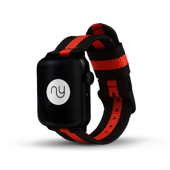 Nyloon Napier Nylon Apple Watch Band - Cult of Mac Watch Store