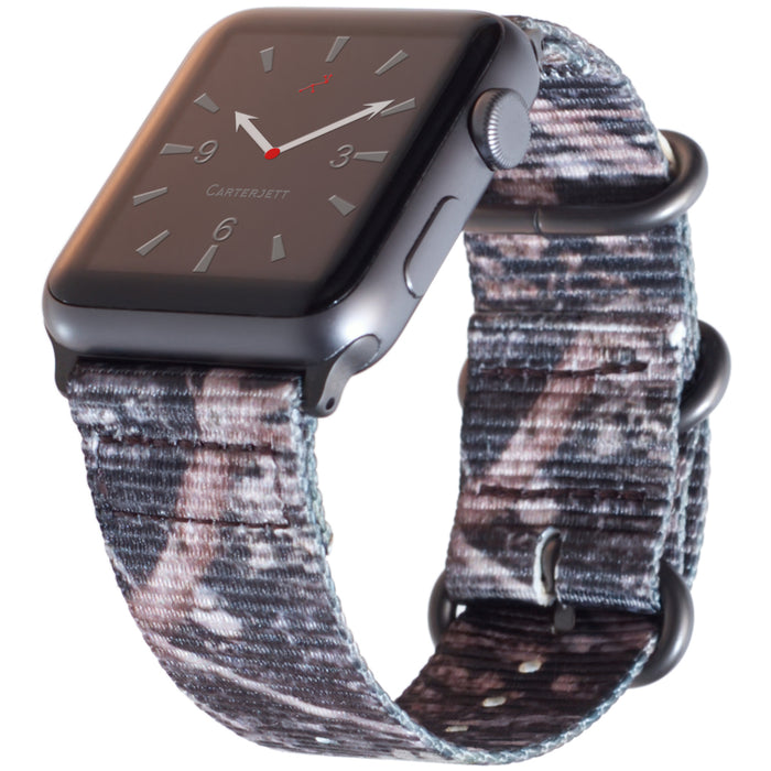 Carterjett Nylon NATO Apple Watch Band in Woods - Cult of Mac Watch Store