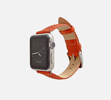Monowear Perforated Leather Apple Watch Band