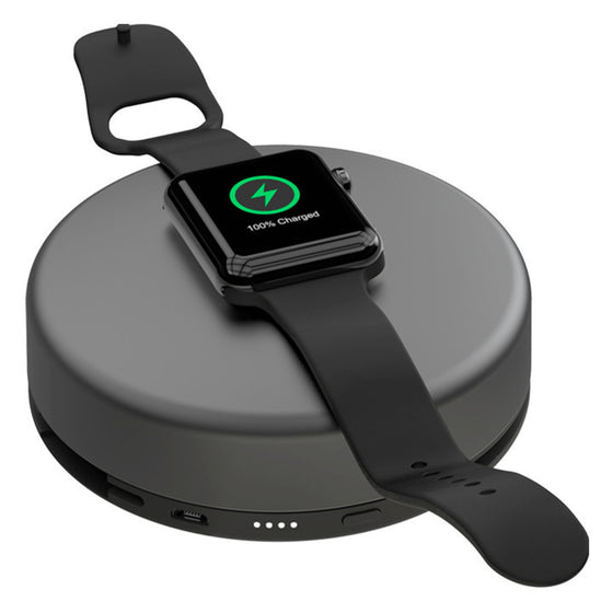 Nomad Pod Pro for iPhone and Apple Watch in Space Gray Aluminum - Cult of Mac Watch Store