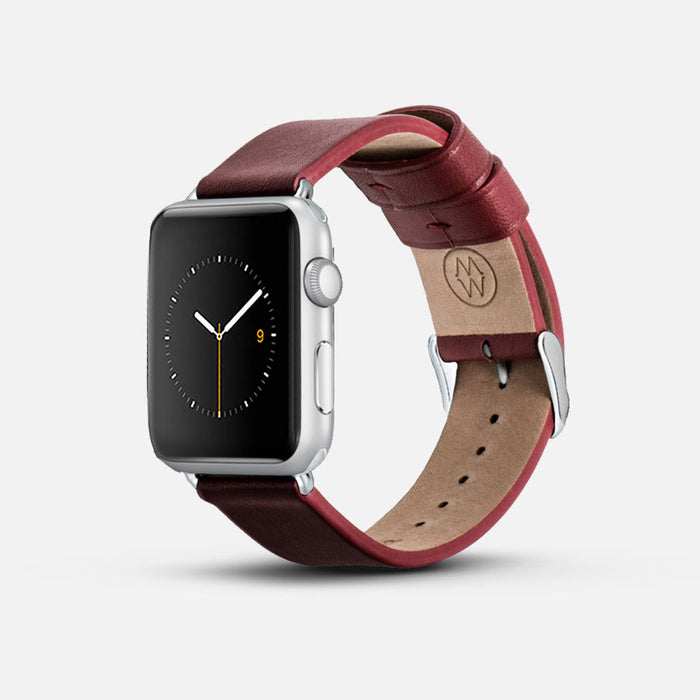 Monowear Classic Leather Apple Watch Band