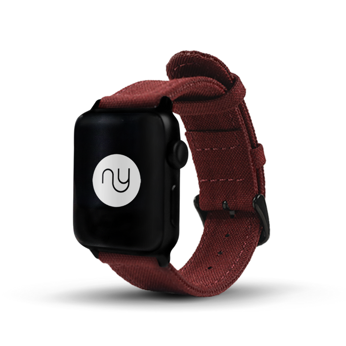 Nyloon Shelby Nylon Apple Watch Band - Cult of Mac Watch Store