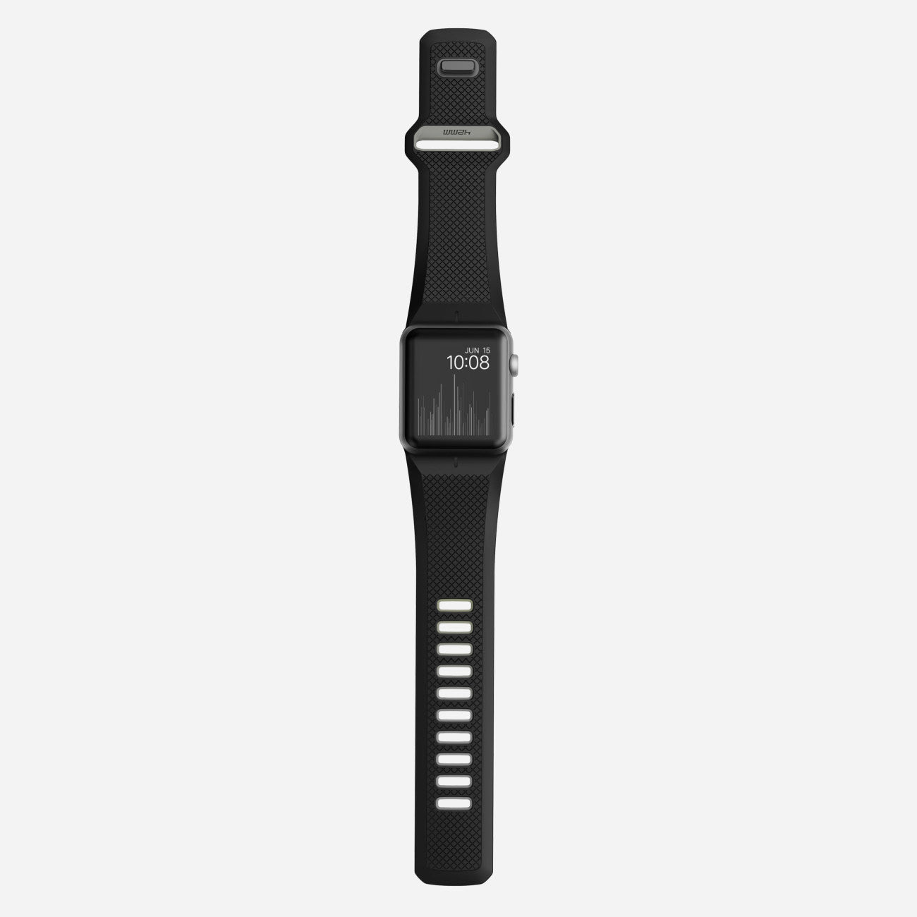 Black Slate Band : Nomad sport strap apple watch band in black slate cult