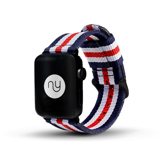 Nyloon Talbot Nylon Apple Watch Band - Cult of Mac Watch Store