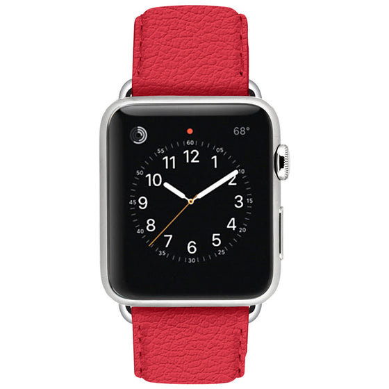Ullu Premium Leather Band in Bloody Hell - Cult of Mac Watch Store