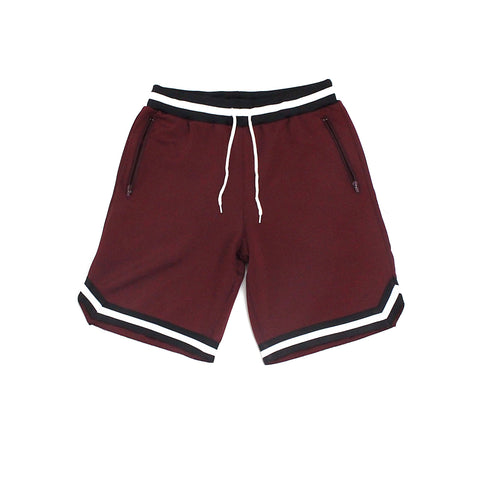 Xander Shorts (Burgundy)