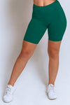 High Waisted Biker Shorts – Jade