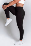 High Waisted Leggings – Black