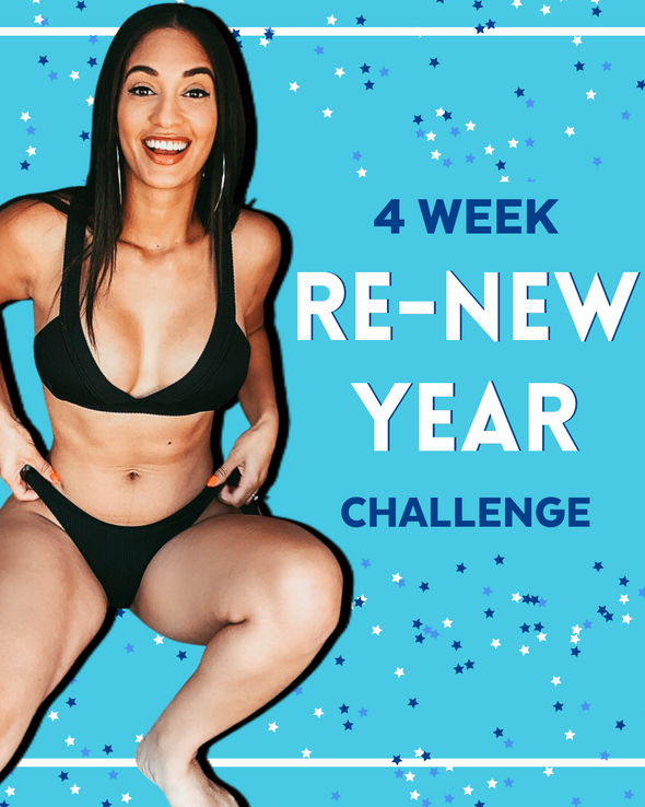 4-WEEK RE-NEW YEAR CHALLENGE