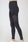 Tribal Seamless Leggings – Black