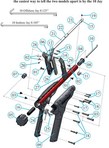 Exploded View & Parts List – GripFlip