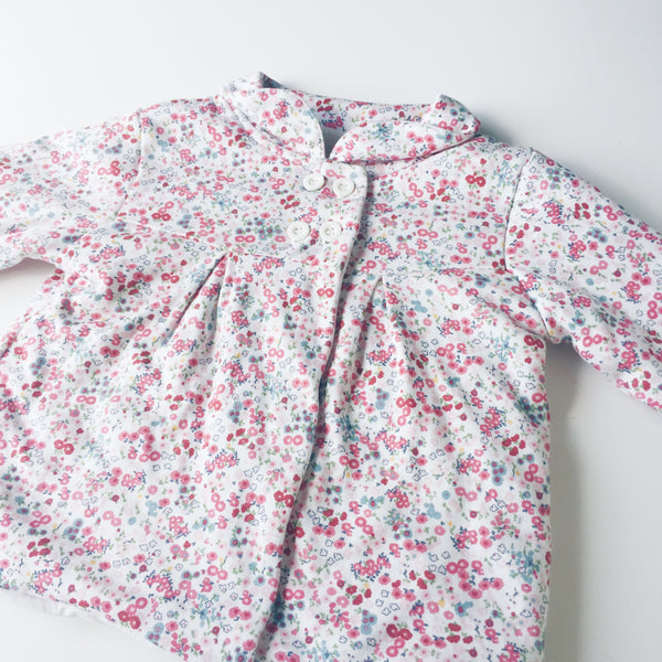 Mothercare floral padded coat</br>6-9 months
