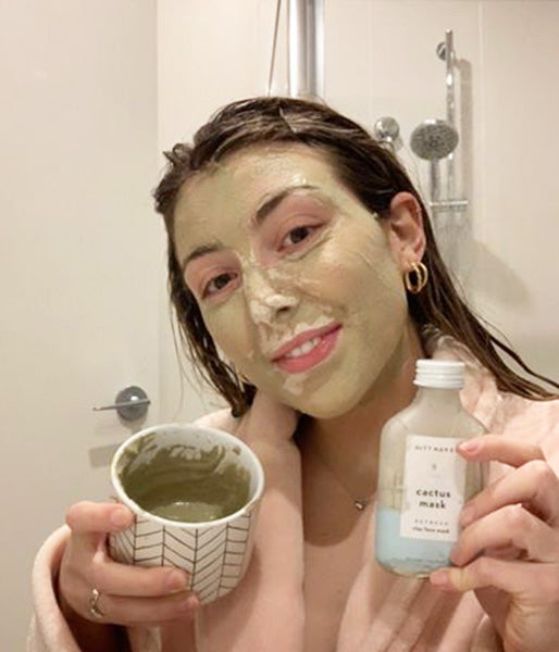 madison's skin routine to hydrate + fight acne