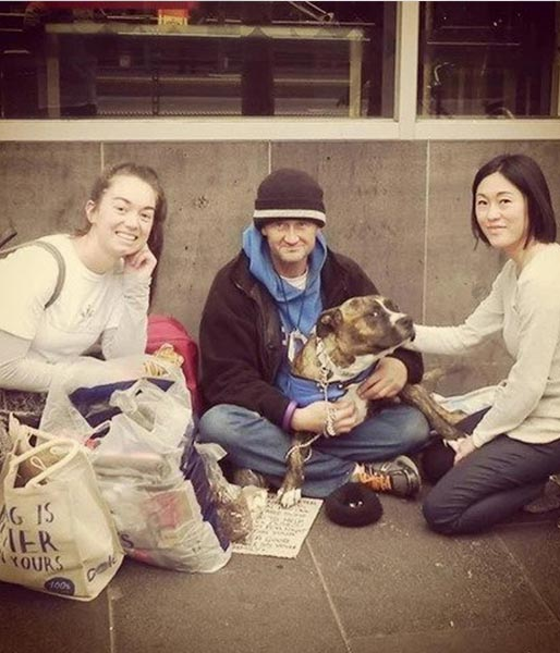 charity: pets of the homeless