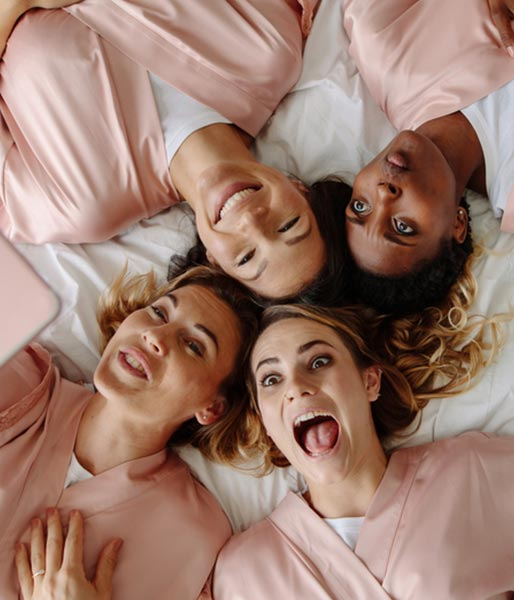 how to throw a grown-up slumber party this winter!