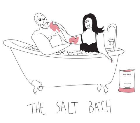 himalayan salt bath