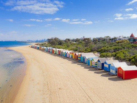 Brighton Beach, Victoria. Best beaches to visit in Australia