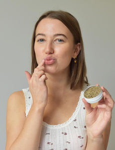 use a lip scrub