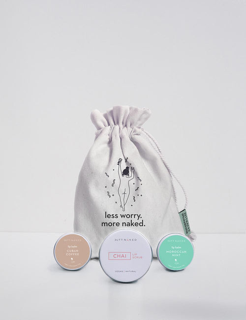 Lip Balm and Scrub gift Set