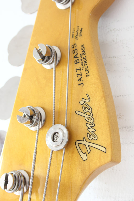 Fender Japan '62 Reissue Jazz Bass JB62-58 Rebel Yellow 1999-02