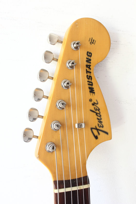 Fender Japan '69 Reissue Mustang MG69-65 Yellow White 2002-04