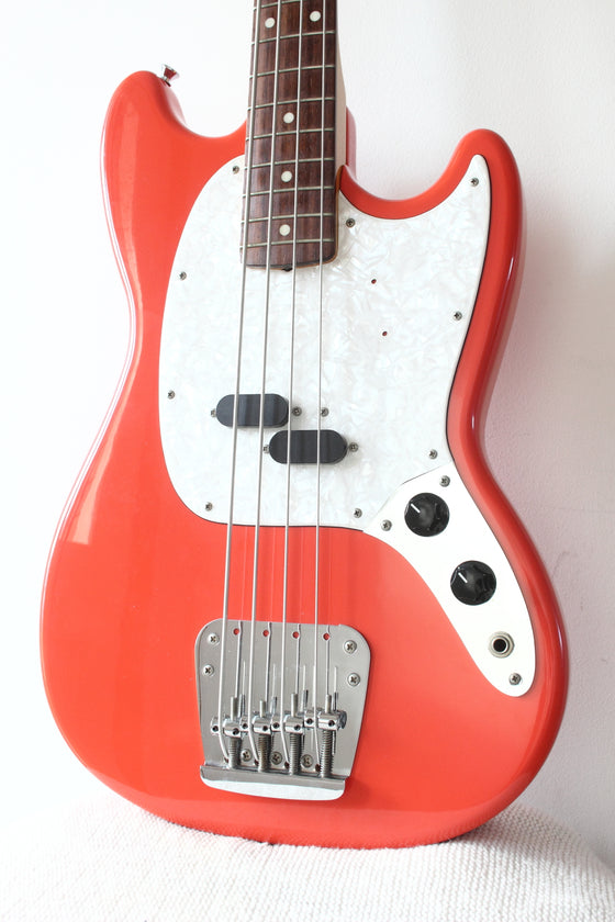 Fender Japan Mustang Bass MB98-SD Fiesta Red 1997-00