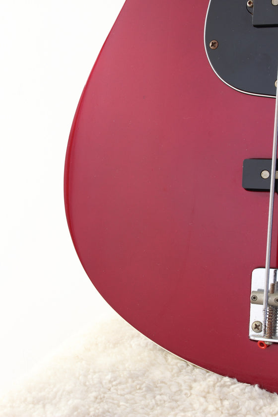Fender Japan Aerodyne Jazz Bass Old Candy Apple Red 2006-08