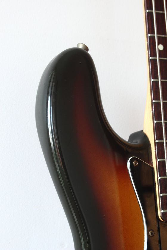 Squier MIJ Jazz Bass Silver Series Sunburst 1993/4
