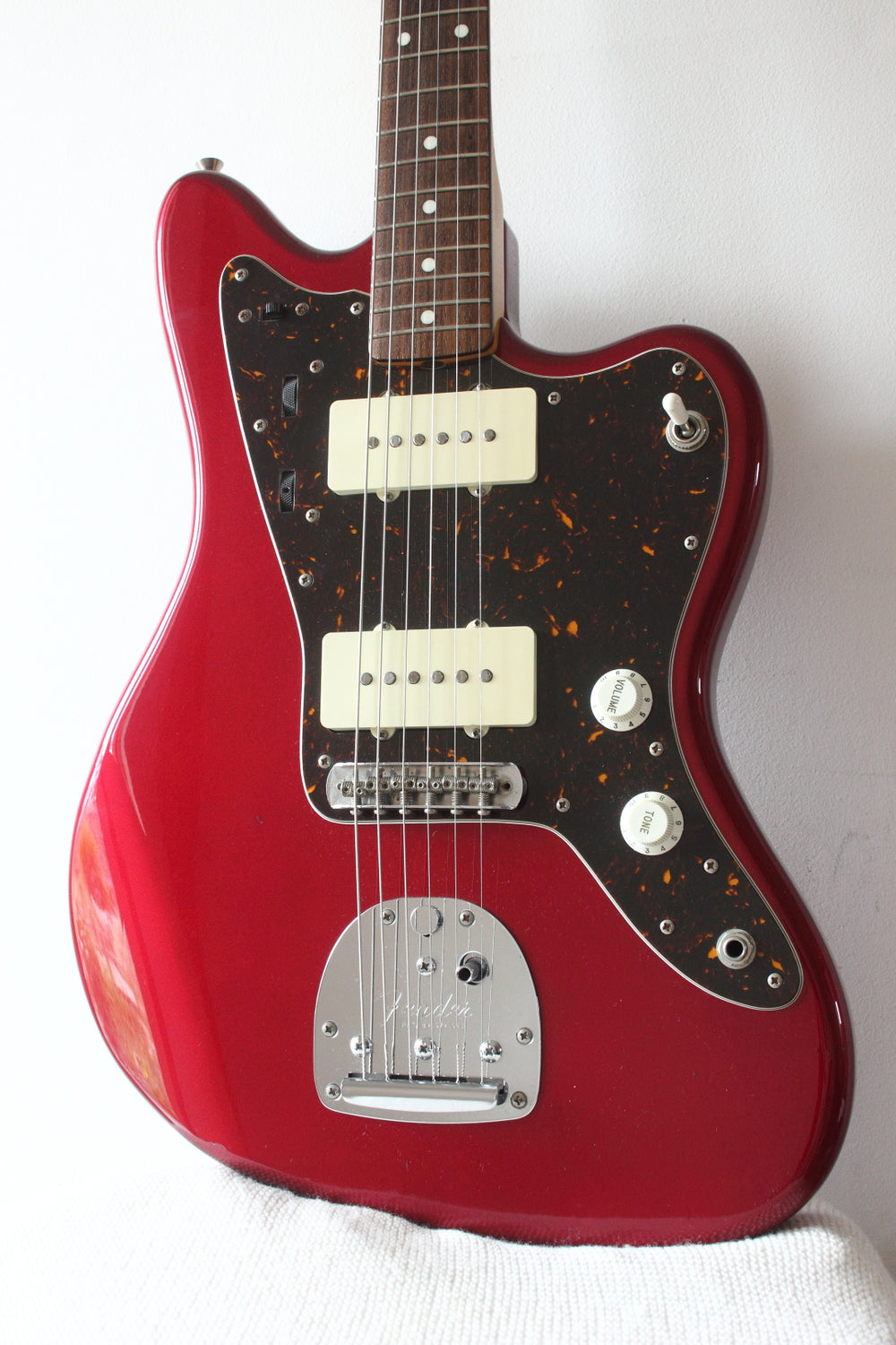 Fender Japan Jazzmaster JM66 Modded Candy Apple Red 2010/11