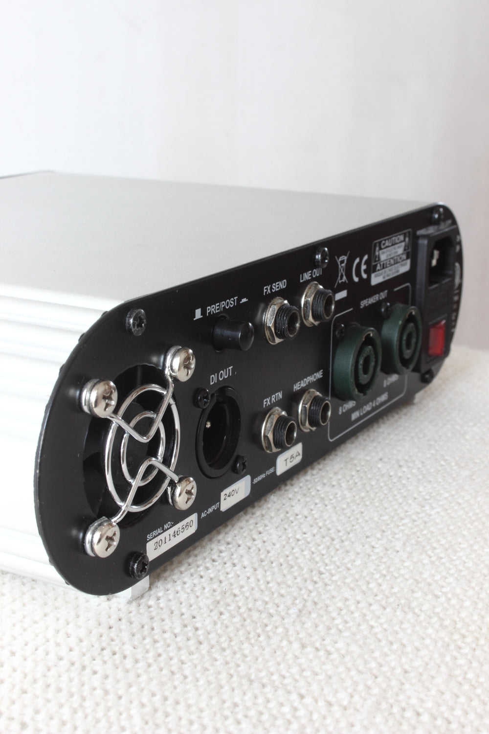 Ashdown MiBass 550 Bass Amp Head