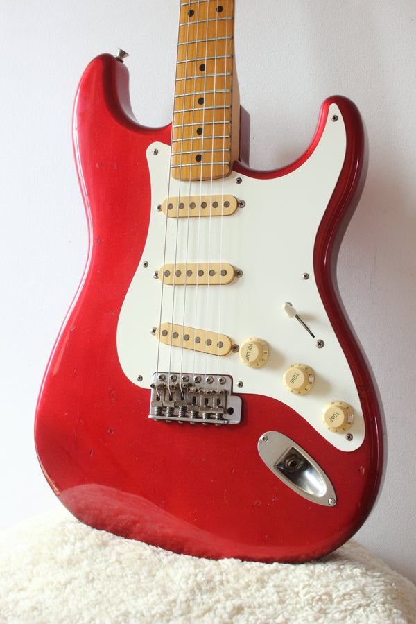Fender Japan '57 Reissue Stratocaster ST57-500 Candy Apple Red 1990