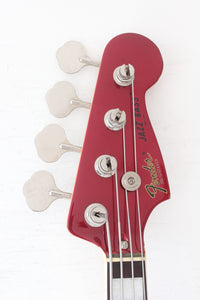 Fender Japan '75 Reissue Jazz Bass JB75-90US Candy Apple Red w/ Matching Headstock 2002-4