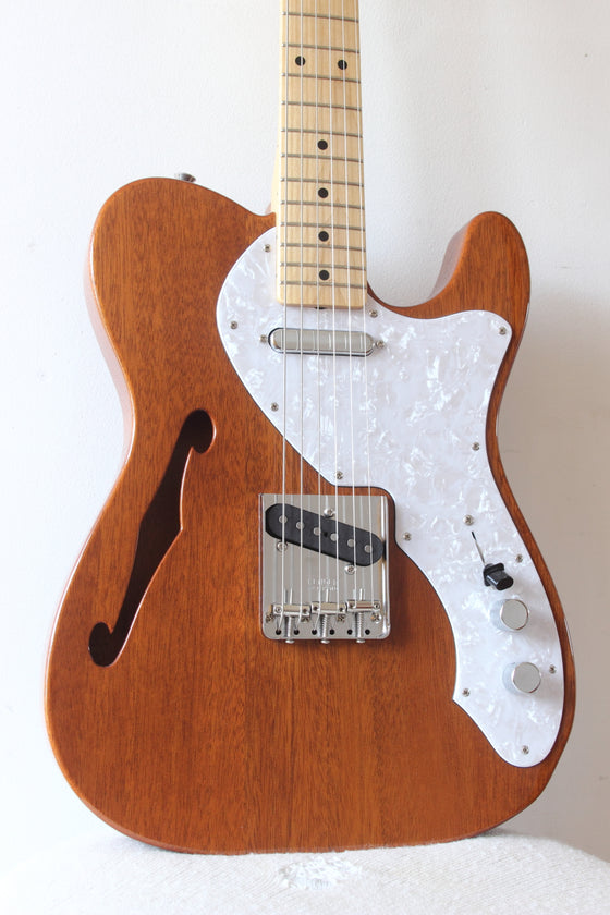 Fender Japan Traditional Series '69 Telecaster Thinline Natural 2017